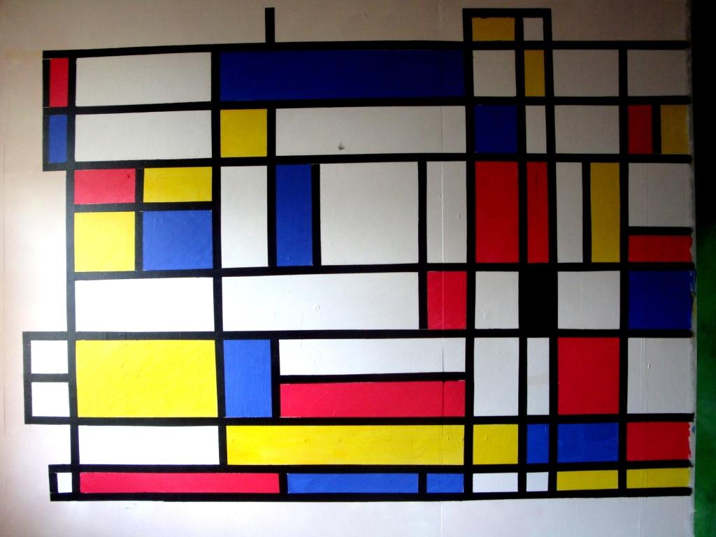 Yellow Kitchen De Stijl How To Paint Abet Style Part 2 Urbandud
