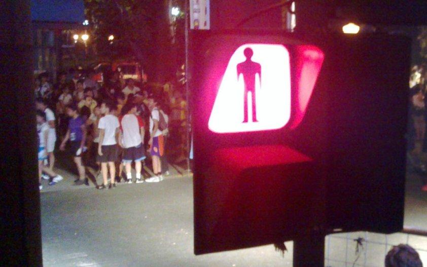 medyo na-delay ang start ng takbo dahil sa walang tigil ang pagdating ng mga runners