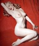 Marilyn Monroe pour le calendrier de Playboy en mai 1949
