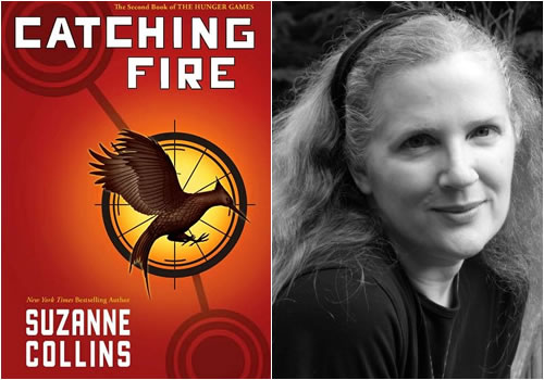 suzanne collins' catching fire