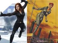 Captin America Civil War BLACK WIDOW
